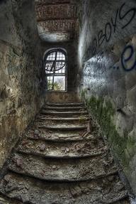 Old asylum in Poland