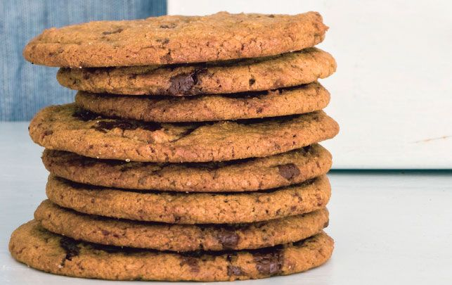 Meyers cookies med chokolade