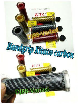 Handgrip kitaco carbon universal rep harris ktc karet r25 mt25 xabre ninja 250 er6 cbr 250rr cb 150 cbr 150 r15 new xmax 250 aerox nmax