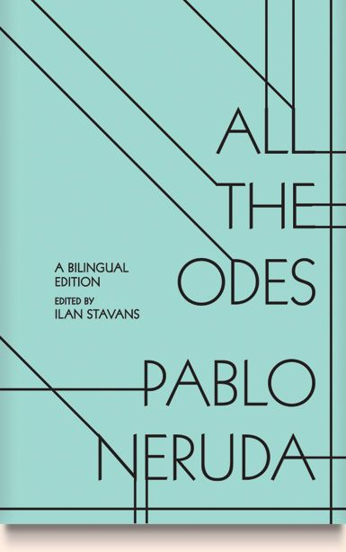 Cover Design for All The Odes by Pablo Neruda