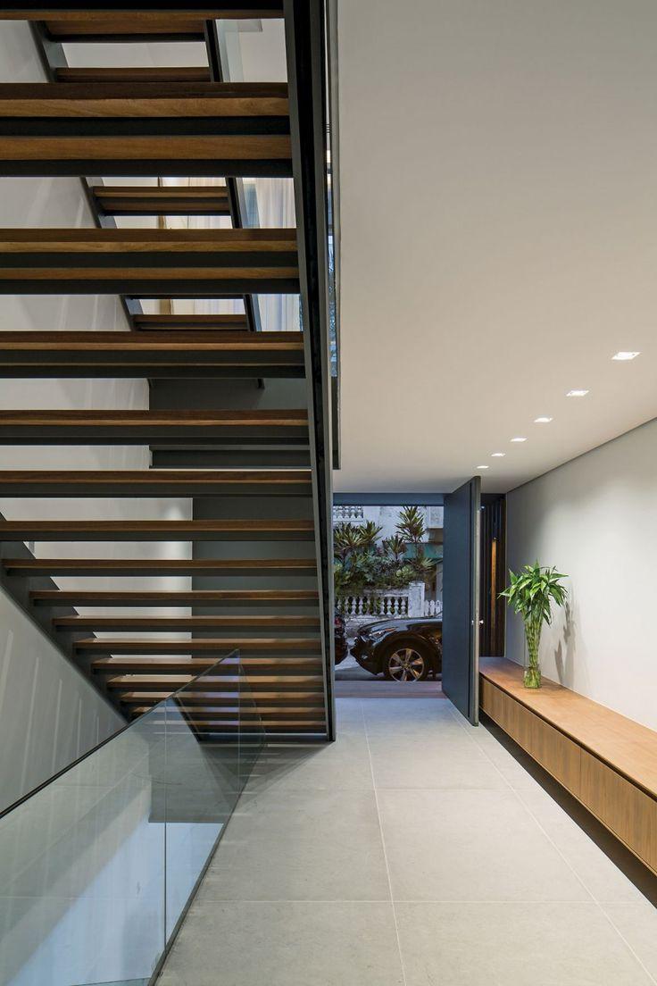 Really nice modern houses - 12x12 By Bernardes Arquitetura Open Stairsreally Nicemodern Homesfront