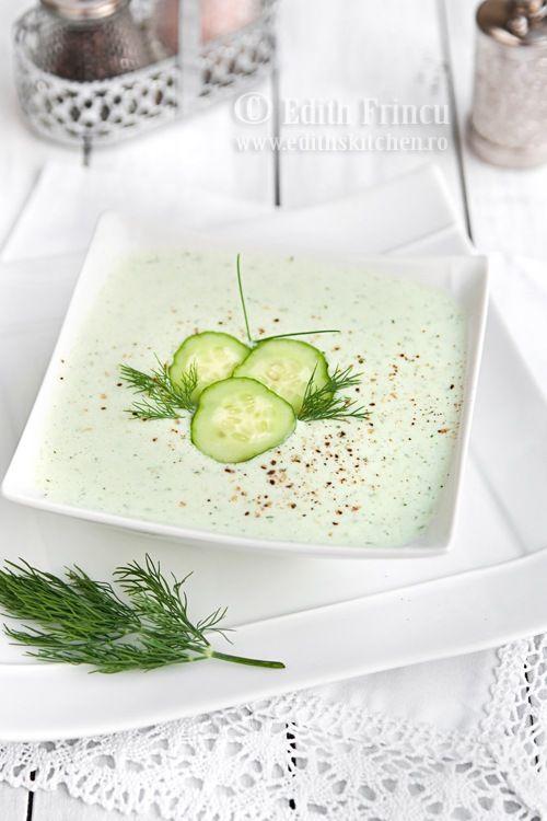 Edith Cuisine: Soupe de concombre froide