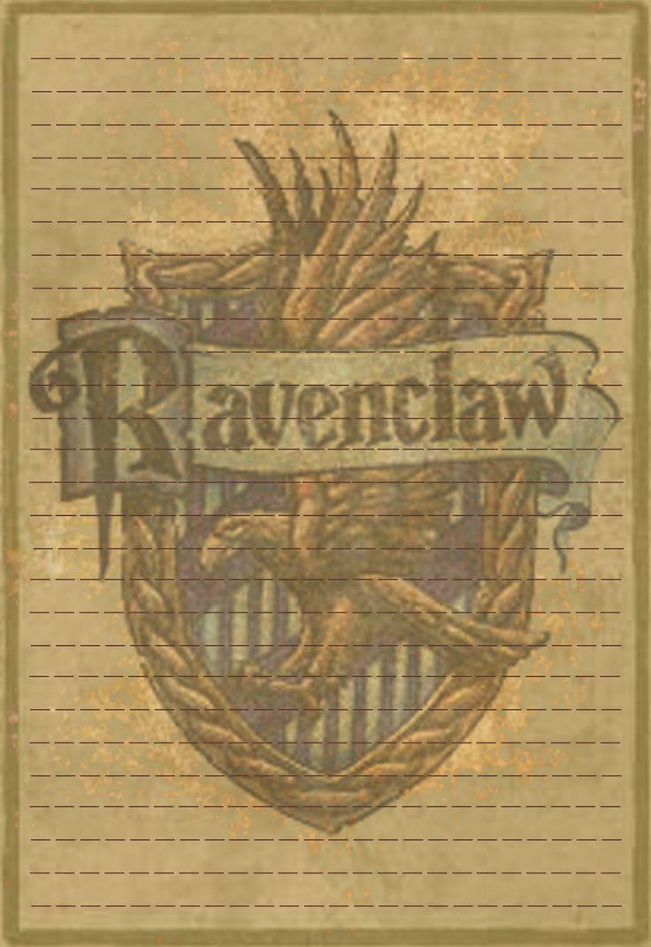 Ravenclaw Stationery Option3 by Sinome-Rae.deviantart.com on @DeviantArt