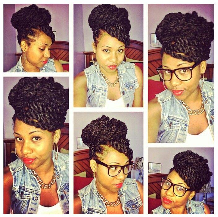 Superb 1000 Ideas About Marley Twists Updo On Pinterest Marley Twists Short Hairstyles Gunalazisus