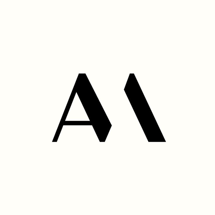 AM Monogram by Richard Baird. (Available). #logo #design