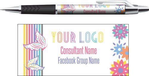 Business pens Butterflies - Direct Sales, Small Business- Digital file - DIY marketing- Ready to go to Vistaprint- Fashion Consultants by okprintables, $10.00 EUR