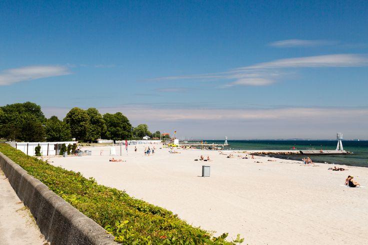 As praias de nudismo mais populares do mundo. Bellevue Beach, Dinamarca