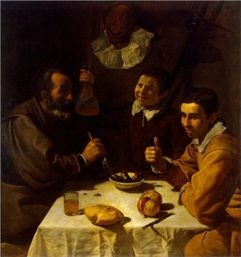Breakfast - Diego Velazquez.  Art Experience NYC  www.artexperiencenyc.com/social_login/?utm_source=pinterest_medium=pins_content=pinterest_pins_campaign=pinterest_initial