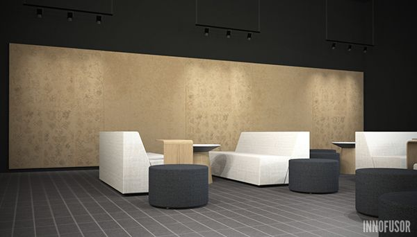 Why settle with one when you can have many? Create stunning acoustic walls with the Gran Ru Pori Collection. More at www.innofusor.com #Scandinavian #Design #Innofusor #acoustics