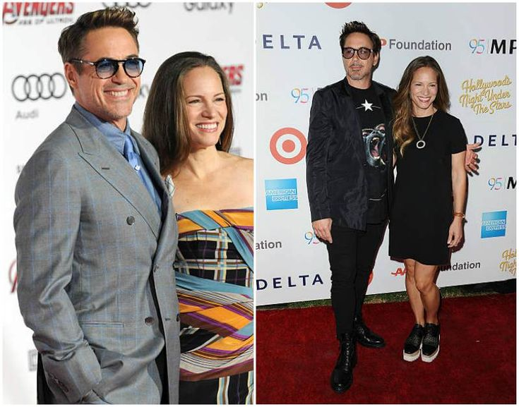 Robert Downey Jr. wife Susan Downey