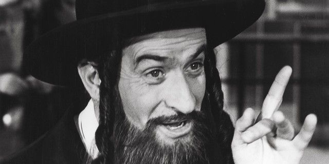 Louis de Funès dans Rabbi Jacob