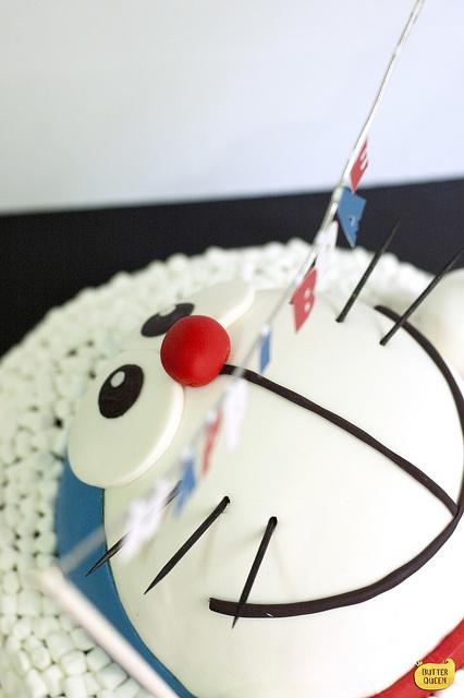 Doraemon cake from Yuanwen@Butter Queen! http://butterqueenbakes.com/
