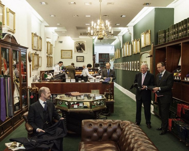 Savile Row - Henry Poole & Co. shop. 9 best destinations in London for shopping >>> http://bit.ly/1NSII2A