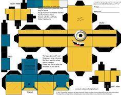 minion bulletin board   paper craft Despicable Me Minion! OOOH