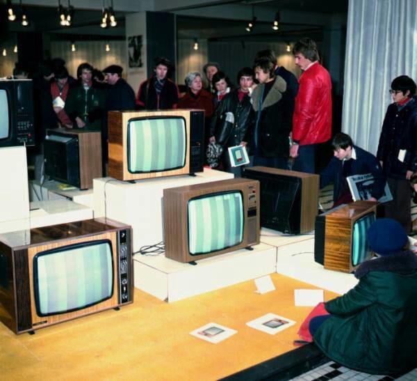 Rubin pierwszy telewizor kolorowy