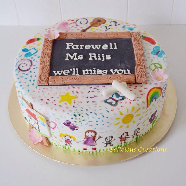 Farewell Cake for a beloved teacher