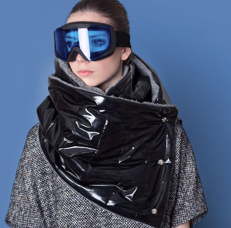 Cocoon Fall - Winter 2014-15 / Blu collection / Chimney Scarf