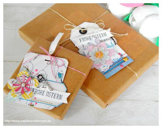 Kleine Geschenke | Verpackungsidee zu Ostern