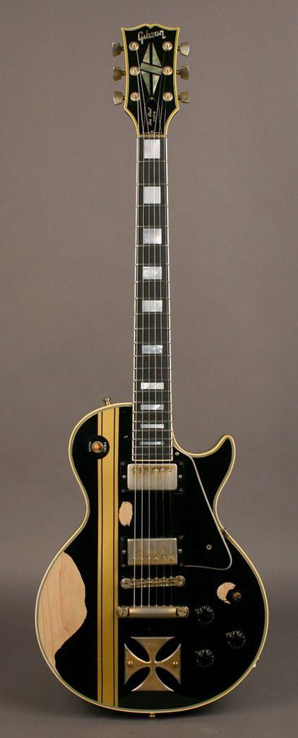 "James Hetfield | '73 Gibson Les Paul Custom, ""Iron Cross."""