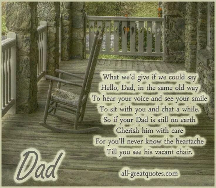 To Dad -in heaven