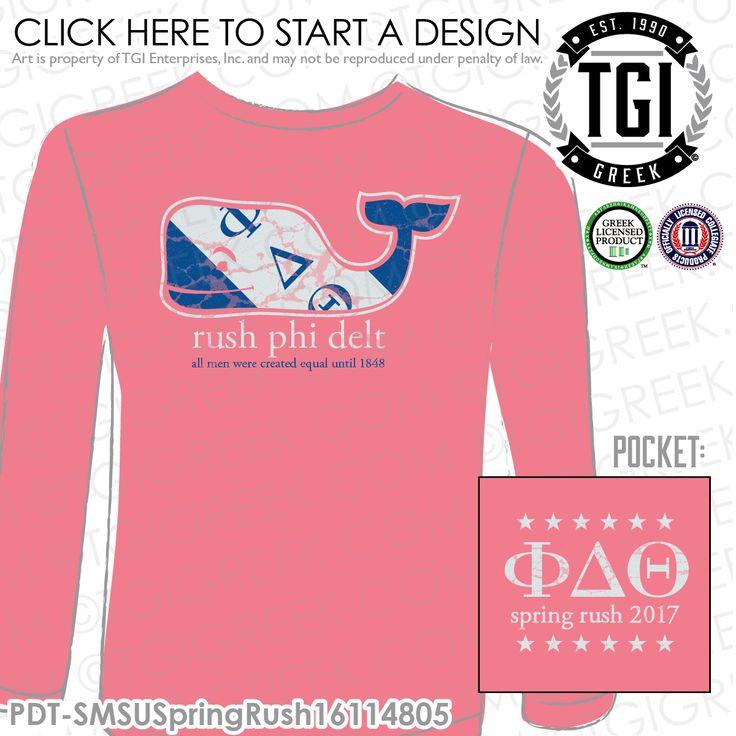 Phi Delta Theta | Phi Delts | ΦΔΘ | Spring Rush | Spring Rush T-Shirts | Brotherhood | Greek Mixers | TGI Greek | Greek Apparel | Custom Apparel | Fraternity Tee Shirts | Fraternity T-shirts | Custom T-Shirts