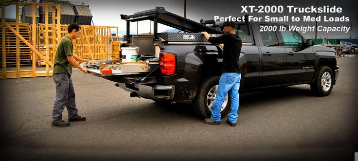 Getting a 5-gallon bucket of paint, a tool box, golf clubs, or groceries out of your pickup bed just got a lot easier with the HPI Truckslide™