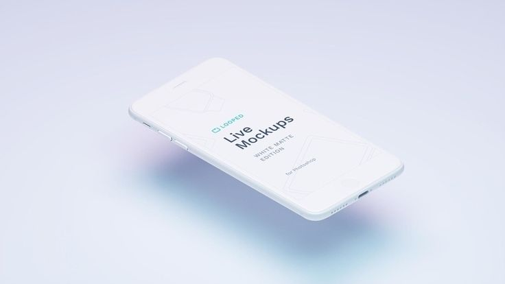 8 Free White Clay Devices Mockups for Personal and Commercial Projects   Designazure.com