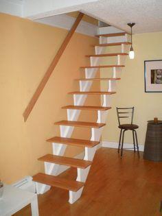 Genius loft stair for tiny house ideas (44)