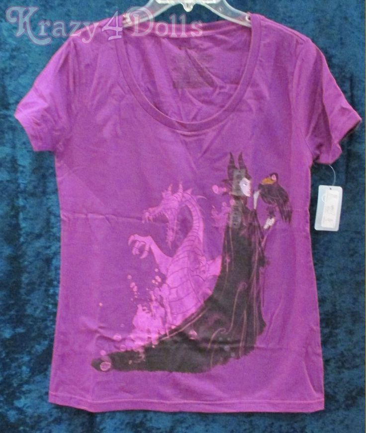 Disney Maleficent Film Collection Tee Shirt Womens Size Small New with Tags!  | eBay