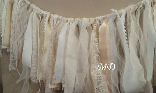 17 mejores ideas sobre guirnalda de tela en pinterest - Guirnaldas de tela ...