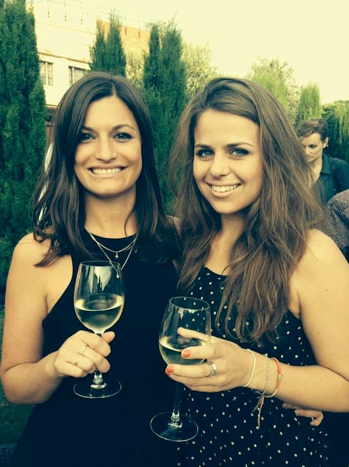 Account Managers Rachel and Dani at the Roof Gardens - Siren #SummerParty