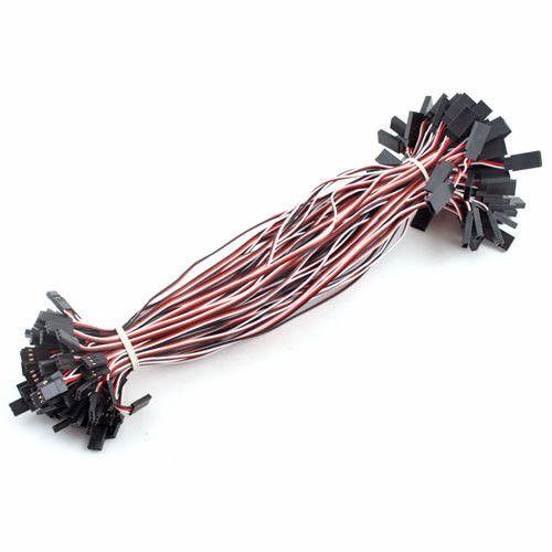 "10pcs/lot NEW 500mm 20"" RC servo extension cord lead Wire"