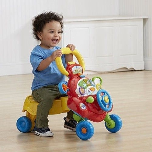 Baby Walker Stand and Ride Vtech Baby Walker With Interactive Sit New #BabyWalkerStandandRide