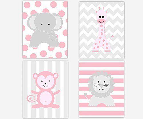 17 Best Ideas About Pink Gray Nurseries On Pinterest