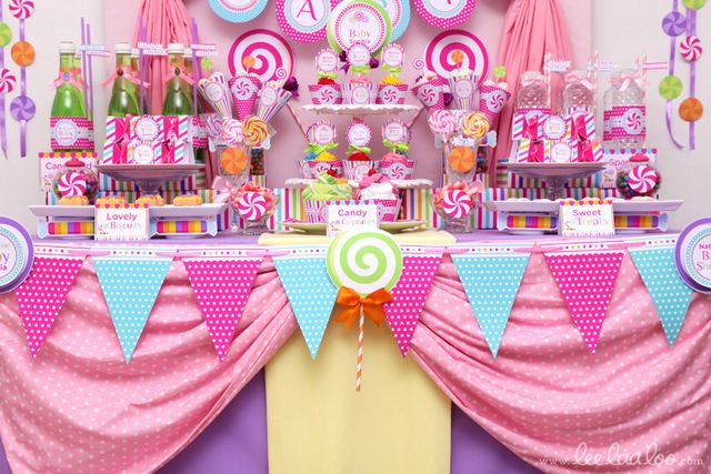 candyland candyland theme baby shower party ideas photo 9 of 90