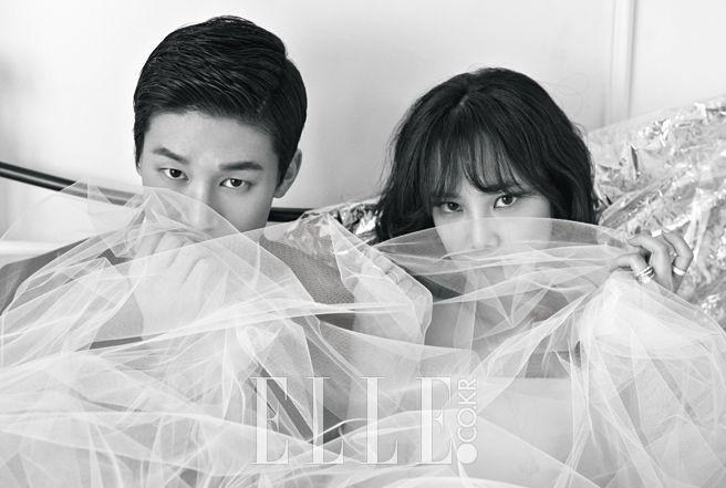 2015.04, ELLE, Kim Moo Yeol, Yoon Seung Ah