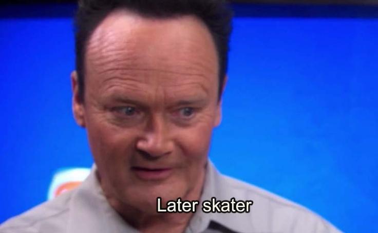 Creed Bratton: Creed Bratton L8r Sk8r