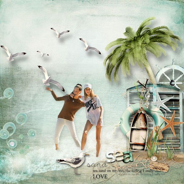 """""""Sea Breeze Collection"""" by et designs  http://www.thedigichick.com/shop/Sea-Breeze-Collection.html  save 58%  photo anarud"""