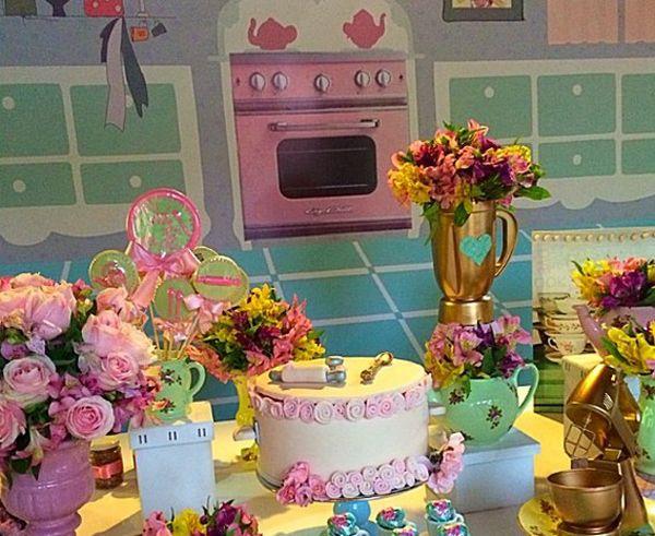 Chá de cozinha da atriz Fernanda Souza
