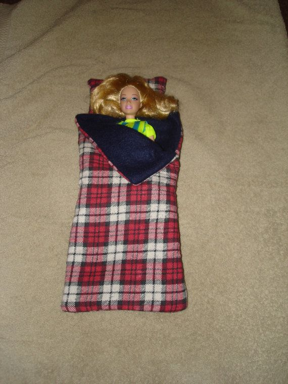barbie sleeping bag... now for a tent