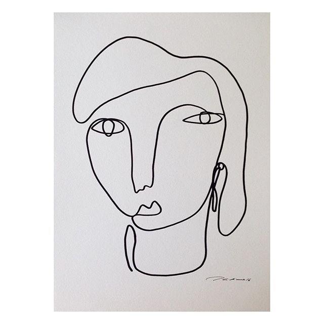 Line Art Inspiration : Christiane spangsberg art house product inspiration