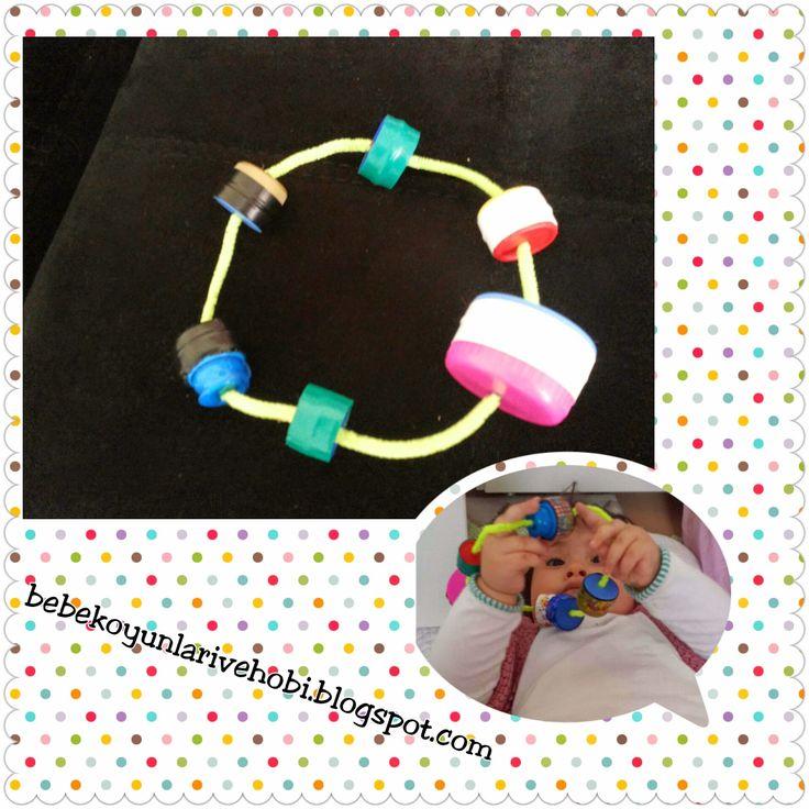 Bebek oyunları ve hobi: marakas ve çıngırak yapımı