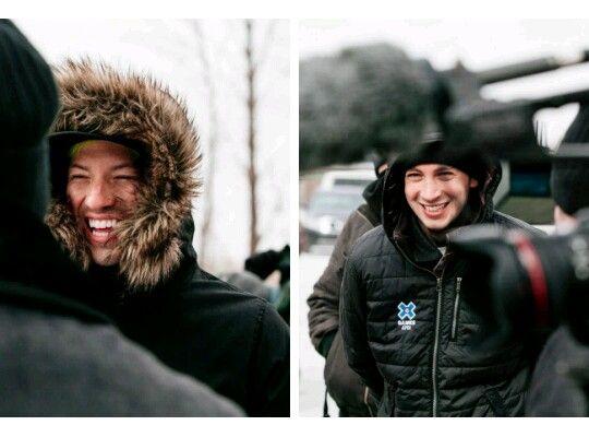 Smiley boys in hds behind the scenes. Kill me plz. Josh dun. Tyler joseph.