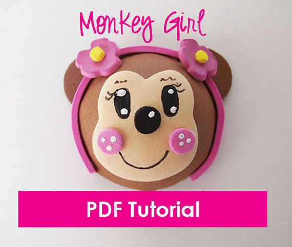 Foam Monkey Girl  Mini Fofucha   PDF Tutorial  by FofuchasDolls, $5.00 - Easy tutorial made exclusively by me :)