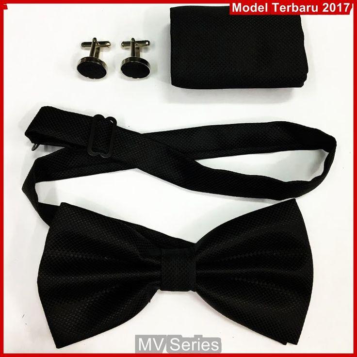 MV113 Model Dasi Elegance Kupu 1 Set Terbaru BMGShop