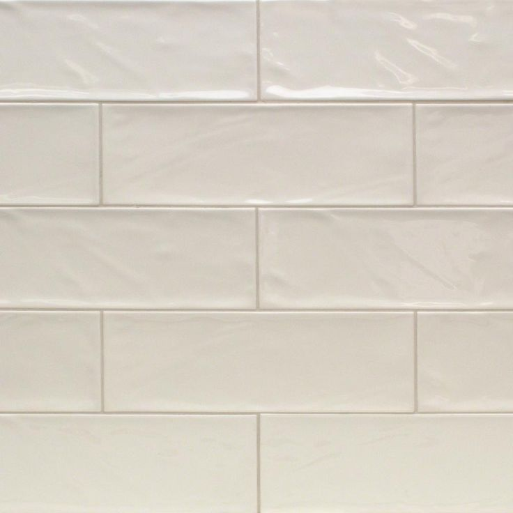 Ivy Hill Tile Pier Ivory 4 in. x 12 in. 6 mm Polished Ceramic Subway Wall Tile (33 piece 10.76 sq. ft. / Box)