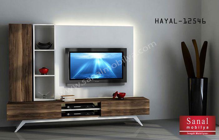 Hayal Tv Ünitesi 12546 Duvar Üniteleri Mobilya İnegöl Mobilya