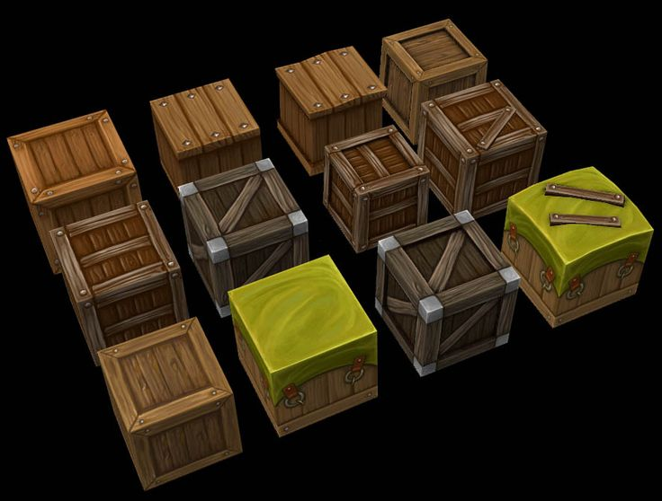Small Boxes by Jimpaw.deviantart.com on @deviantART
