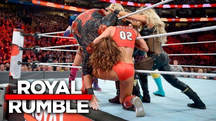 WWE Royal Rumble 2018 - Womens Royal Rumble Match Full Match HD