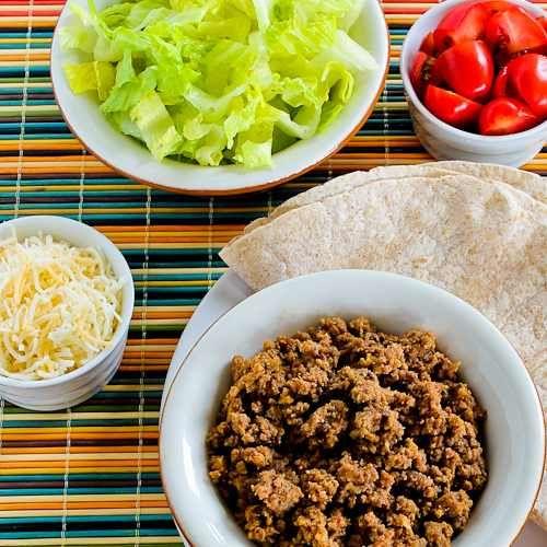... Kalyns Kitchen, Beef Tacos, Tacos Salad, Slow Cooker, Summer Dinner